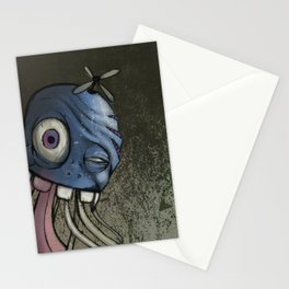 The Jelly-Filled Cranium Fish Stationery Cards