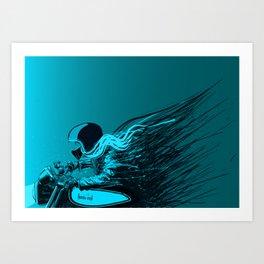 Gasper Art Print