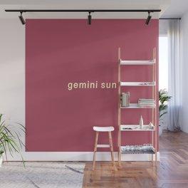 Gemini Sun Wall Mural