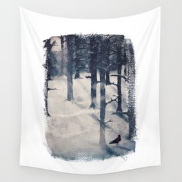 the raven who stole my heart Wall Tapestry