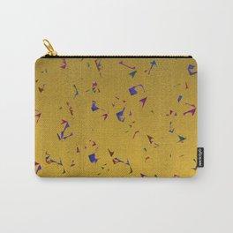 Confetti & Gold Festive Carry-All Pouch