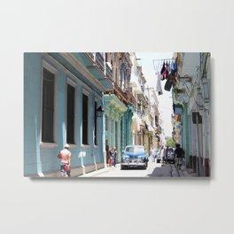VIVA CUBA Metal Print