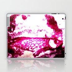fish in pink Laptop & iPad Skin