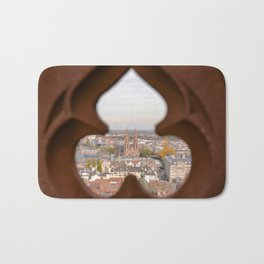 A Cathedral with a View Bath Mat