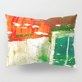 City Aflame and Drowning Pillow Sham