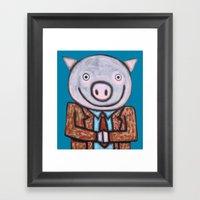 Mr.Mayor Framed Art Print