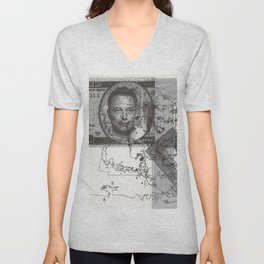 Elon Musk: Everything Will Be Alright Unisex V-Neck