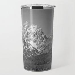 Ansel Adams - Grass Valley and Grand Tetons Travel Mug