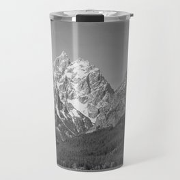 Ansel Adams - Grass Valley and Grand Tetons Travel Mug
