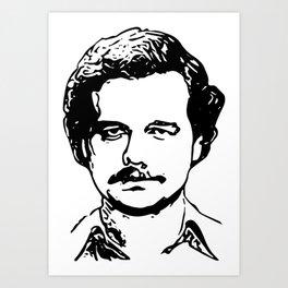 Pablo el Patrón Art Print