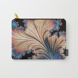 Fractal UV Carry-All Pouch