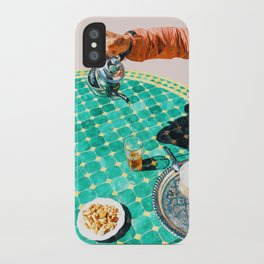 Chai #painting #digitalart iPhone Case