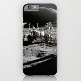Apollo 15 - Moonwalk 1971 iPhone Case