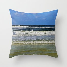 Siesta Seaside Throw Pillow
