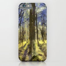 Peaceful Forest Van Gogh iPhone 6s Slim Case
