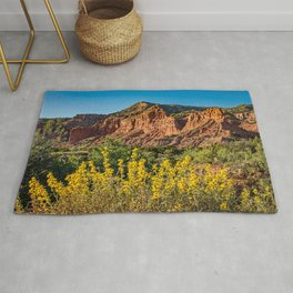Caprock Canyons Wildflowers Rug