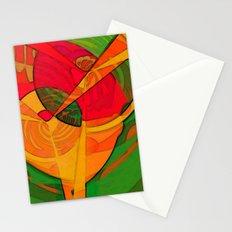 Tropical Farm Woman Stationery Cards
