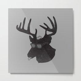 Weird Deer Metal Print