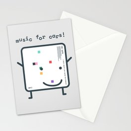 Music for Cars / ABIIOR (1975) Filo Stationery Cards