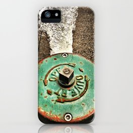 Running Fire Hydrant iPhone Case