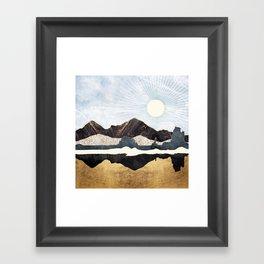 Desert Gold Framed Art Print