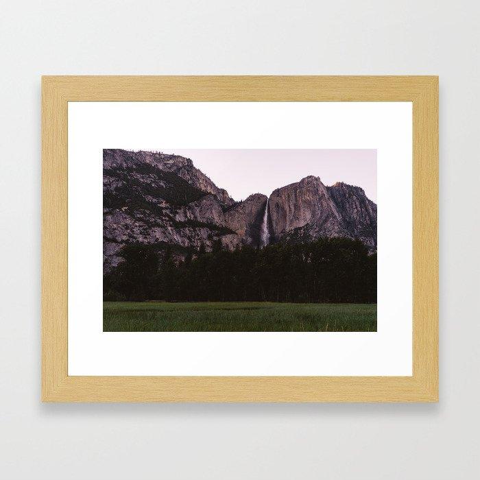 Yosemite Sunset Framed Art Print