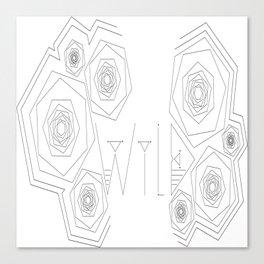 W I L D Canvas Print