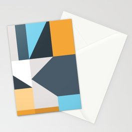 Modern Geometric 61 Stationery Cards