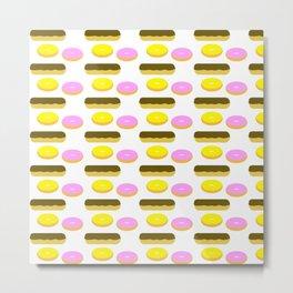 donuts fry cake Metal Print