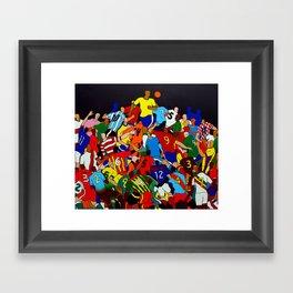 2014 Framed Art Print