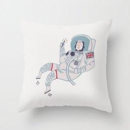 Tim Peake Throw Pillow