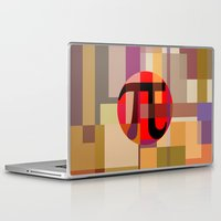 pi Laptop & iPad Skins featuring Geometric Pi  by Vi Sion
