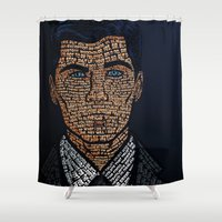 archer Shower Curtains featuring Archer Quotes by 666HUGHES