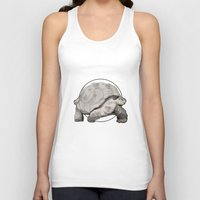 tortoise Tank Tops featuring Tortoise by Twentyfive