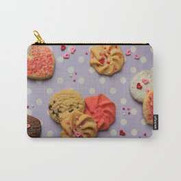 Valentines Cookies Carry-All Pouch