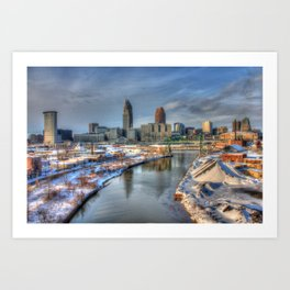 Once Upon Cleveland Art Print