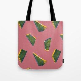 Jumbled Green Tote Bag