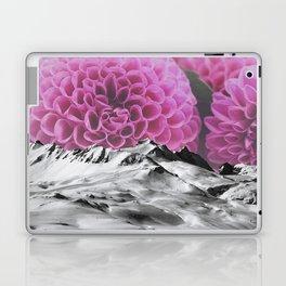 Ice Capped Dahlias Laptop & iPad Skin