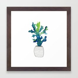 Tofino Coral Framed Art Print