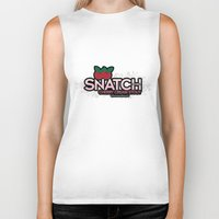 snatch Biker Tanks featuring Snatch Double Cherry Cream Stout by Pen Island Brewing Company