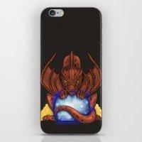smaug iPhone & iPod Skins featuring Smaug by YattaGiulia
