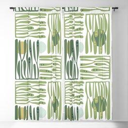 Seaweed pattern Blackout Curtain