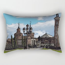Plaza de Cervantes Rectangular Pillow