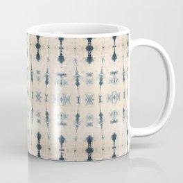 Light Indigo Shibori Coffee Mug
