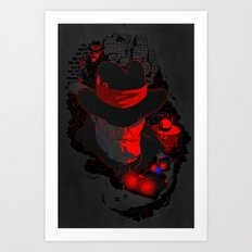 Three After Midnight Art Print