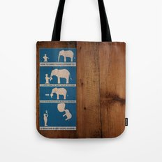how to make your elephant fly Tote Bag