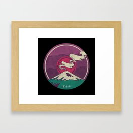 Mount Fuji Framed Art Print
