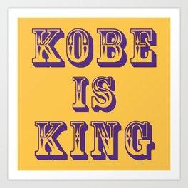 RIP KING Art Print