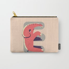 E for Elephant Carry-All Pouch