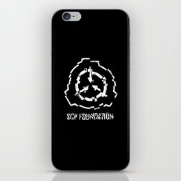 SCP Foundation- cracked iPhone Skin